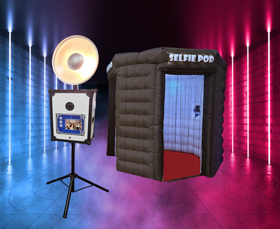Inflatable LED Octagon Photo Booth