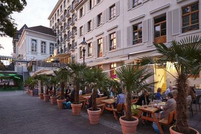 L'Hôtel East West impressionne par la combinaison de la vieille tradition éprouvée du design moderne