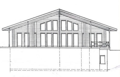 Hanghaus in Hessen - Wohnhaus - Holzhaus - Grundriss - Oberaula - Fulda - Wohnblockhaus - Blockhaus - Holzhäuser - Architektenhaus