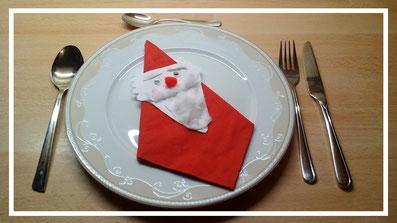 Bastelideen Weihnachtsmann