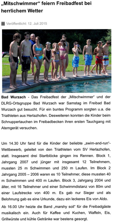 Quelle: diebilschirmzeitung.de, 12.07.2015