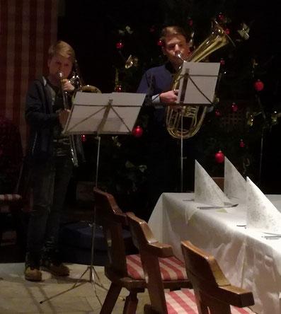 Julian (li.) und Patrick Allesch