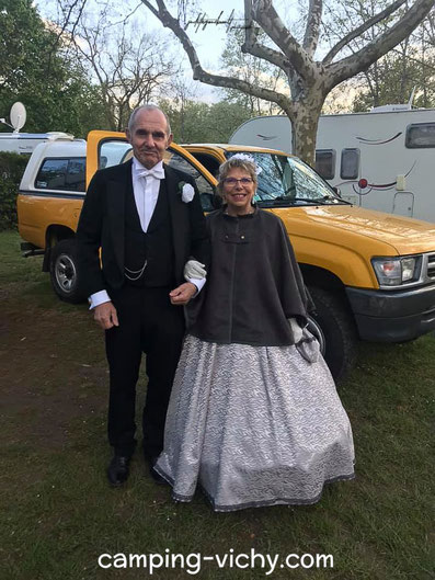 bal napoleonien costumes vichy cusset camping croix st martin vichy cure vacances auvergne allier