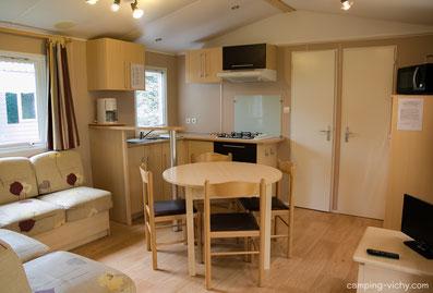 salon mobil home super titania camping croix st martin hebergement auvergne allier