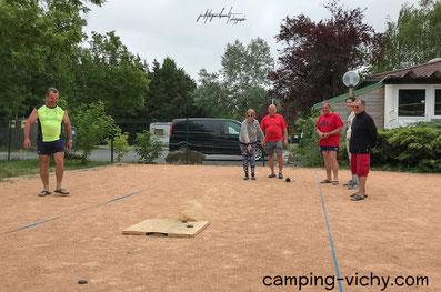 boule palet camping croix st martin vichy abrest cure vacances auvergne allier vichy