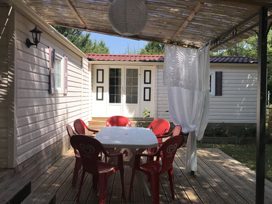 camping auvergne allier vichy croix st martin grand mobile home 7 personnes