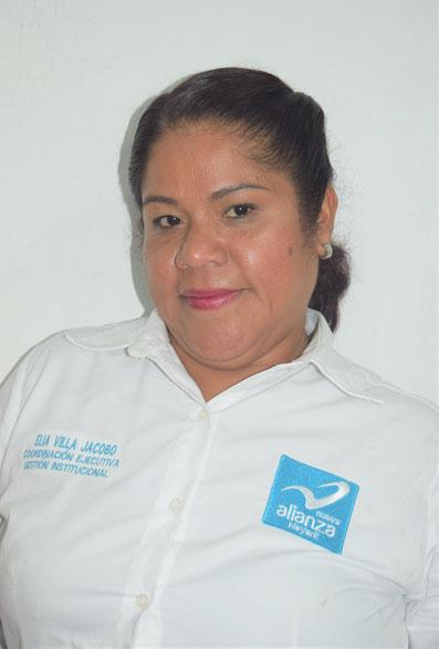 COORDINADORA EJECUTIVA DE GESTION INSTITUCIONAL: ELIA VILLA JACOBO