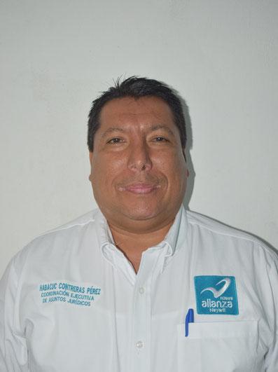 COORDINADOR EJECUTIVO ESTATAL DE ASUNTOS JURIDICOS:  MTRO. HABACUC MELCHISEDEC CONTRERAS PEREZ