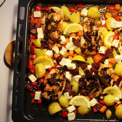 Einfach! Küche! #Die Pottkieker - OfenHähnchen griechische Art