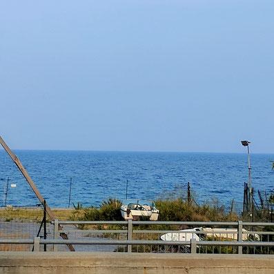 Das Mittelmeer an der Riviera
