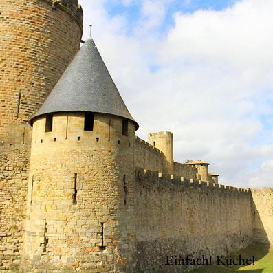 Die Mittelalterfestung La Cité de Carcassonnne
