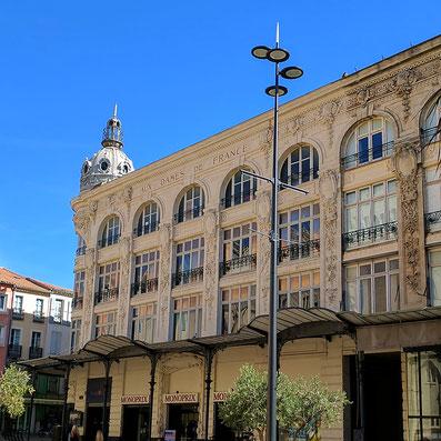 In der Altstadt von Narbonne