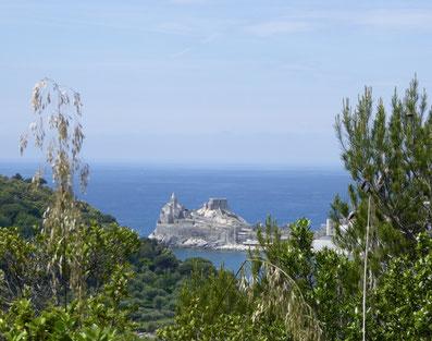 San Pietro di Portovenere, gesehen von der Insel Palmaria