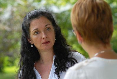 Natascha Reiss im Dialog