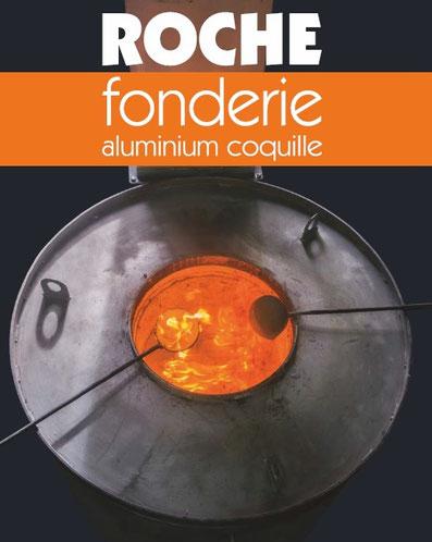 Fonderie ROCHE Aluminium coquille