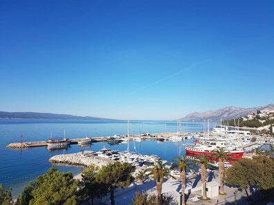 hotel grandhotel slavia baska voda küstenpatent kurs dalmatien makarska riviera brela tucepi prüfung boat skipper split hafenamt marina