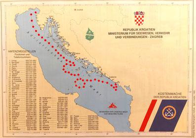 Küstenmeer Hoheitsgewässer 12 Meilen Zone Küstenpatent