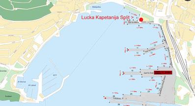 lucka kapetanija hafenamt split prüfung boat skipper küstenpatent kroatien