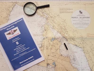 Fragen Antworten Kurs Prüfung Küstenpatent Kroatien Boat Skipper Rijeka Split