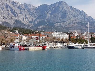 Live Webcam Baska Voda Dalmatien Kroatien