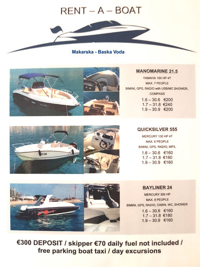 marina yachtcharter bootsvermietung boote mieten boutiquehotel kleine 4 sterne hotels hotel grandhotel slavia baska voda dalmatien makarska riviera brela tucepi