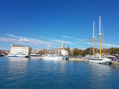 küstenpatent kuestenpatente boat skipper a und b kurse makarska riviera dalmatien baska voda brela tucepi kroatien deutsch betreute prüfung split