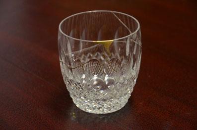 金継ぎで直したグラス