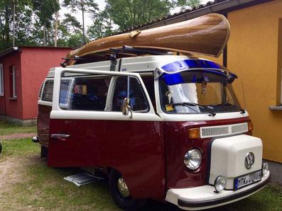 VW T1 Bulli - letztes Modell
