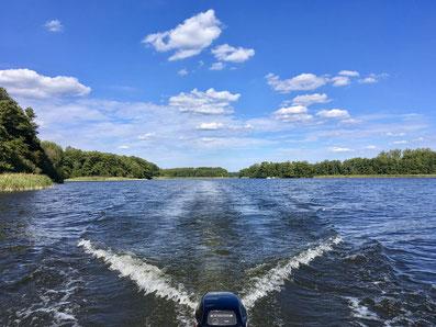 Priepert, Wasserski, See