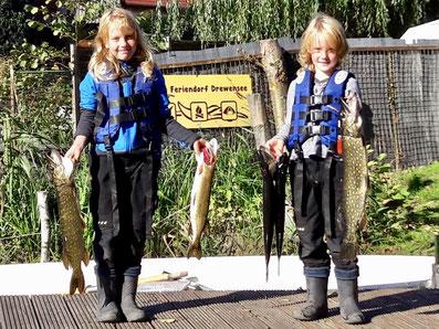 Kinder angeln, Hechtangeln