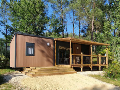 Cottage Premium 3 chambres avec terrasse podium semi-couverte- photo fabricant