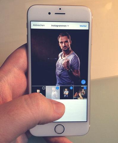 Instagram Galerie vG Fotodesign Blog Tipp Workshop Behinde the Scenes Fotoshooting Fotograf Gevelsberg