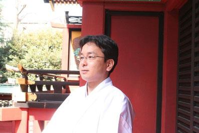 矢野幸士 浅草神社
