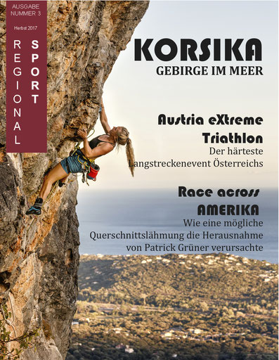 E-Paper online lesen Regionalsport Tirol Sport Magazin Klettern Laufen Trailrun Football Korsika Race across America Patrick Grüner Austrian Extreme Triathlon Magazin Zeitung Sportmagazin Randsport Breitensport Hobbysport Extremsport