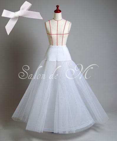 パニエ Aライン ブライダル インナー ウェディング ドレス 下着 結婚