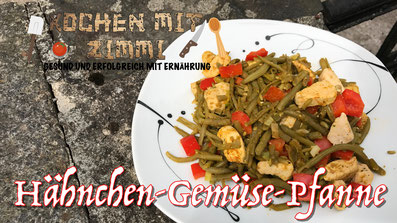 Rezept Hähnchen Gemüse Pfanne