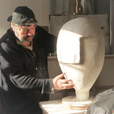 Marc Taupin Sculpteur en Normandie Manche Et Bordeaux Gironde