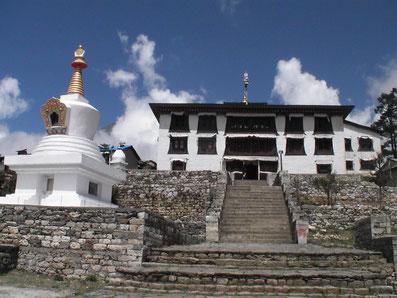 monastère de Thengboche - Trekking Khumbu - trek everest