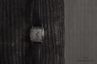 止まったままの腕時計は祖父の形見の品