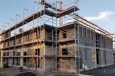 Hausbau mit Planstein-Mauerwerk