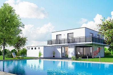 GZ Schalungssteine Schwimmbad-Bau