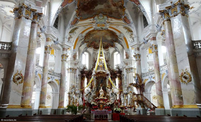 Innenraum, Basilika Vierzehnheiligen