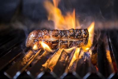 Magnifica fotografía de alimentos, la vaca argentina.