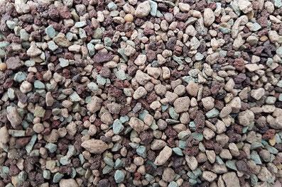 Mineralsubstrat mit Dünger