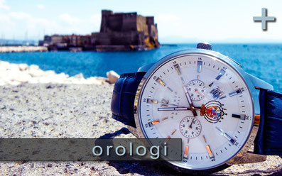 Cronografo Stemma Regno Due Sicilie Brand Argenio Napoli -  chronograph Reign of Naples by Argenio Naples