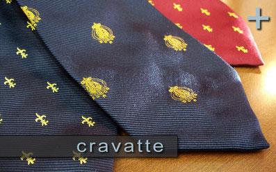 Cravatte in pure seta Regno due Sicilie