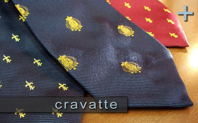 Cravatte in pure seta Regno due Sicilie - Ties in pure silk Reign Of Naples