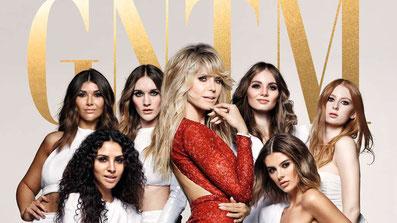 Heidi Klum und einige Kandidatinnen der 16. Staffel von Germanys next Topmodel + #GNTM-Kampagne: Heidi Klum und ihre Topmodel-Anwärterinnen der 16. Staffel© ProSieben