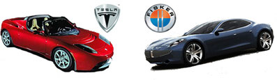 Fisker EMotionTesla S