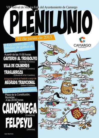 Festival de Música Folk en Camargo 2015 - Fiestas de San Juan